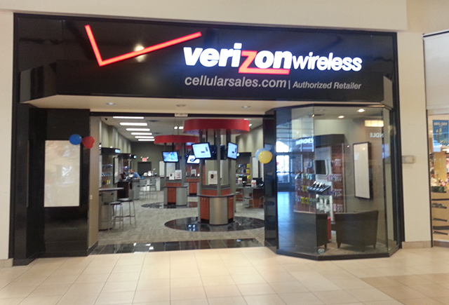 Honey Creek Mall Terre Haute, IN Cellular Sales Verizon store