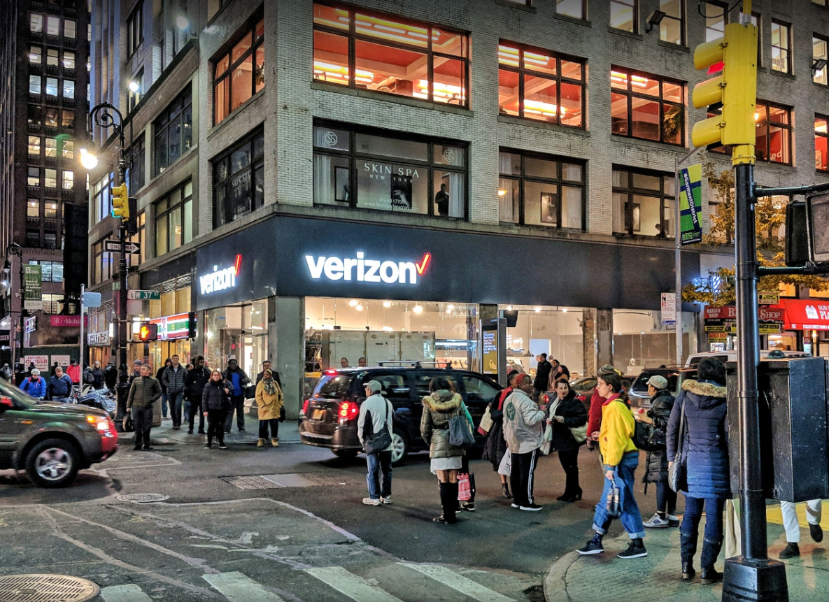 Eighth And 37th New York, NY Cellular Sales Verizon store