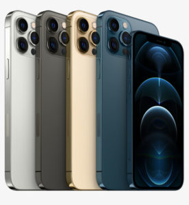 stack of apple iphone 12 pro's